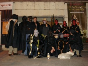 Els personatges presents a la desfilada