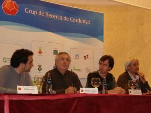 Els participants a la taula rodona