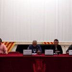 Enric Quílez, Josep Maria Teignier, Laurent Leygue i Guillem Lluch