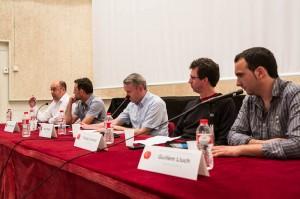 Detall dels participants en el debat