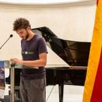 V Trobada de Poesia i Música d'Estiu. Gerard Cunill.