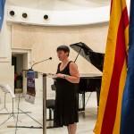 V Trobada de Poesia i Música d'Estiu. Teresa Pérez de Rozas.