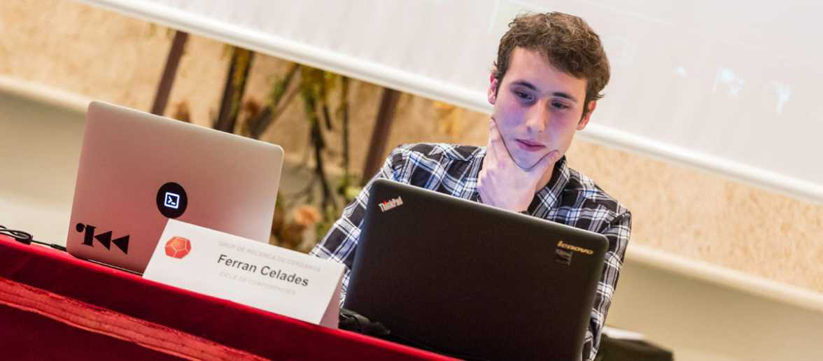 """Conferència """"Ciberseguretat, una necesitat del món actual, perills i solucions"""" a càrrec de Ferran Celades."""