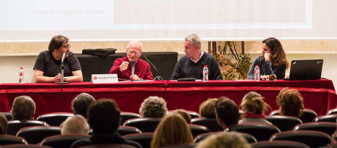 """Presentació del llibre """"Empirisme. Bacon. Locke. Hume."""" de Josep Maria Piguillem"""