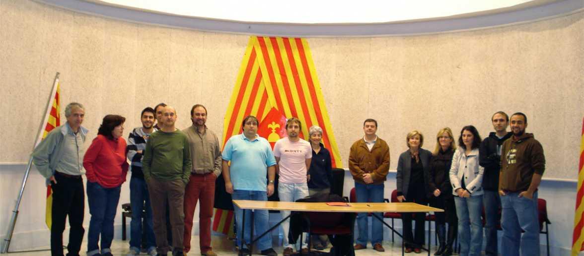 Socis fundadors del Grup de Recerca de Cerdanya
