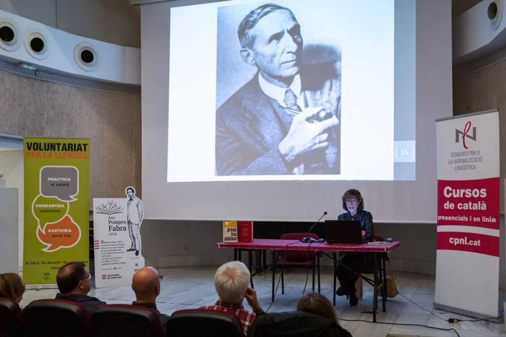 Conferència Any Pompeu Fabra - Maria-Rosa Lloret