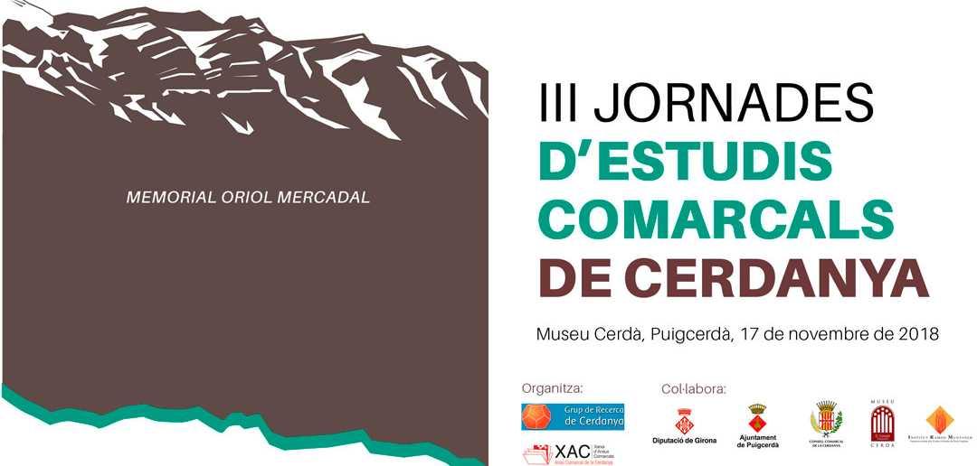 III Jornades d'Estudis Comarcals JEC 2018