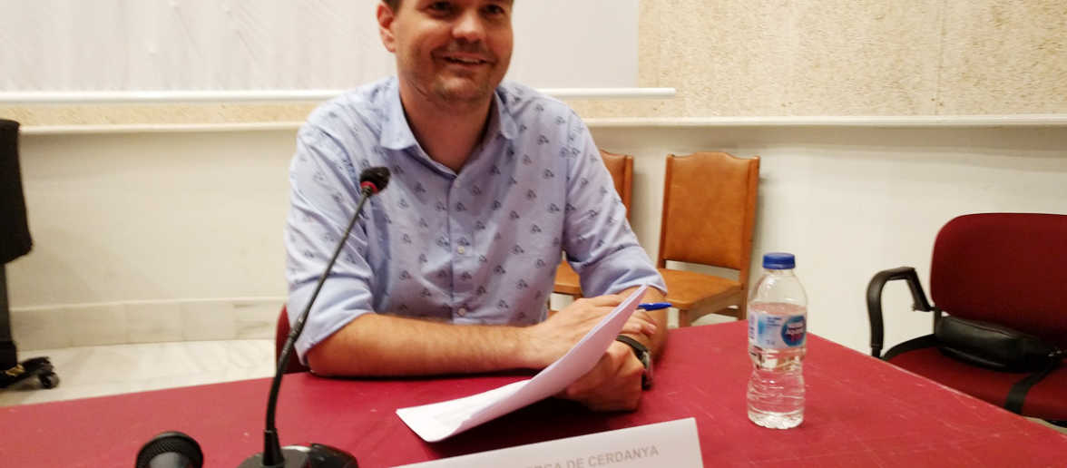 """Conferència """"La Cerdanya mediàtica"""" a càrrec d'Abel Gallardo"""