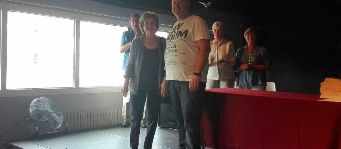 Victòria de Caralt, guanyadora del Premi Esteve Sais - Vila de Llívia 2017