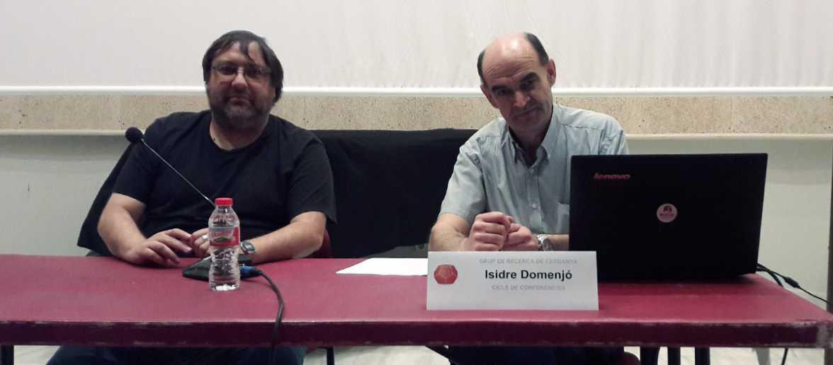 Isidre Domenjó - Conferència Fauna i mitologia del Pirineu