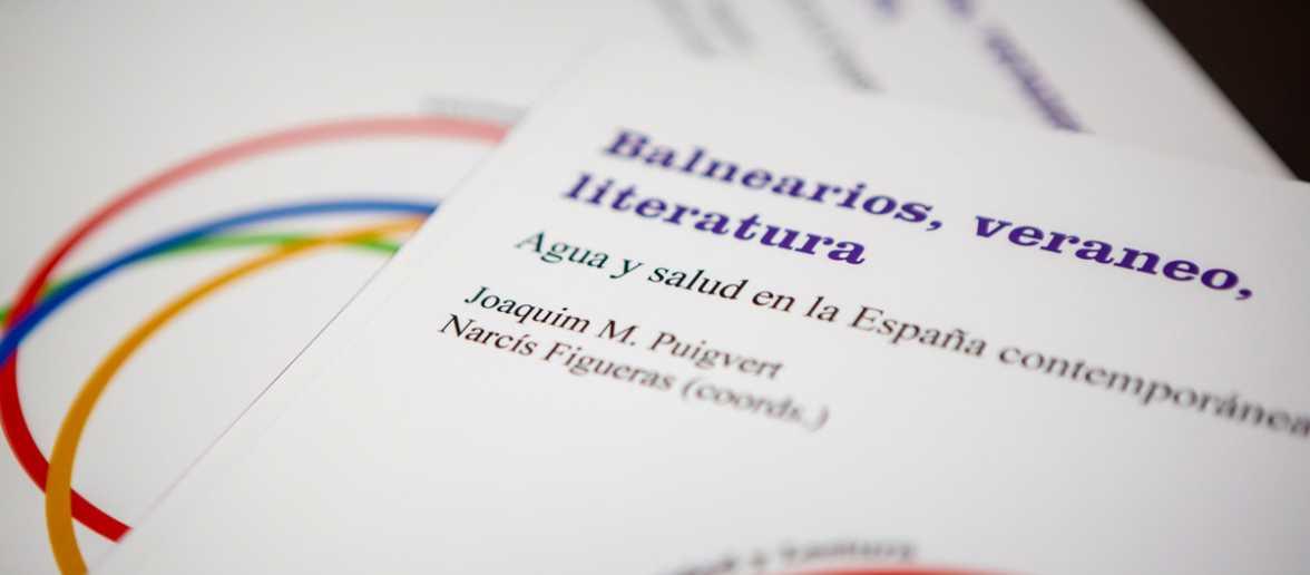 """""""L'estiueig històric: pràctica social i derivades literàries"""" a càrrec de Narcís Figueras i Joaquim M. Puigvert."""